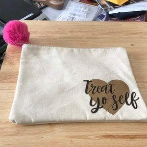Treat Yo Self Cosmetic Makeup Bag